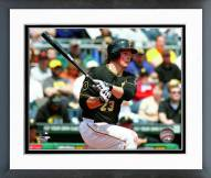 Pittsburgh Pirates Travis Snider Action Framed Photo