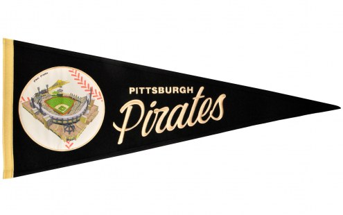 Pittsburgh Pirates Vintage Ballpark Traditions Pennant