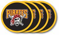 Pittsburgh Pirates Vinyl Coaster Set