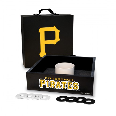 Pittsburgh Pirates Washer Toss Game Set