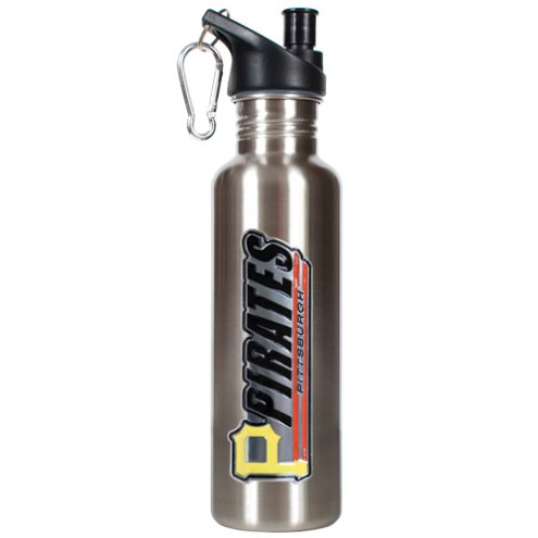 Pittsburgh Pirates 26 oz. Water Bottle with Pop-Up Spout