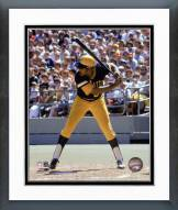 Pittsburgh Pirates Willie Stargell Batting Action Framed Photo