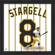 Pittsburgh Pirates Willie Stargell Uniframe Framed Jersey Photo