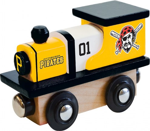 Pittsburgh Pirates Wood Toy Train