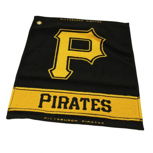 Pittsburgh Pirates Woven Golf Towel