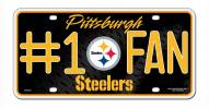 Pittsburgh Steelers #1 Fan License Plate