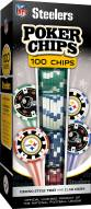 Pittsburgh Steelers 100 Poker Chips