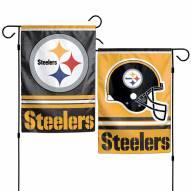 "Pittsburgh Steelers 11"" x 15"" Garden Flag"