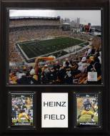 "Pittsburgh Steelers 12"" x 15"" Stadium Plaque"