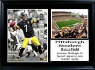 "Pittsburgh Steelers 12"" x 18"" Ben Roethlisberger Photo Stat Frame"