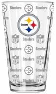 Pittsburgh Steelers 16 oz. Sandblasted Pint Glass