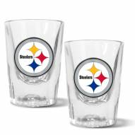 Pittsburgh Steelers 2 oz. Prism Shot Glass Set