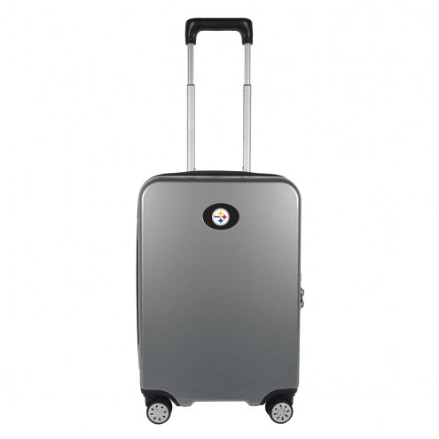 """Pittsburgh Steelers 22"""" Hardcase Luggage Carry-on Spinner"""
