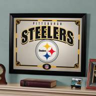 "Pittsburgh Steelers 23"" x 18"" Mirror"