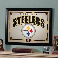 "Pittsburgh Steelers 23"" x 18"" Mirror"