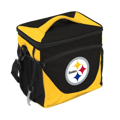 Pittsburgh Steelers 24 Can Cooler
