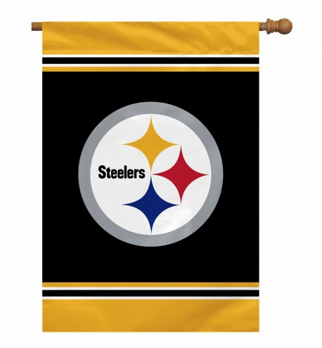 """Pittsburgh Steelers 28"""" x 40"""" Banner"""