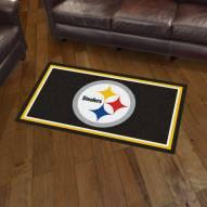 Pittsburgh Steelers 3' x 5' Area Rug