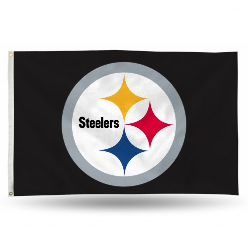 Pittsburgh Steelers 3' x 5' Banner Flag