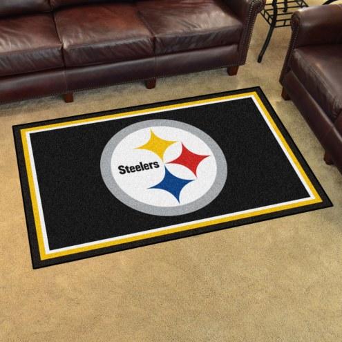 Pittsburgh Steelers 4' x 6' Area Rug