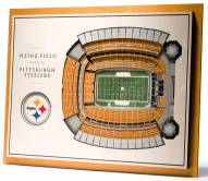 Pittsburgh Steelers 5-Layer StadiumViews 3D Wall Art
