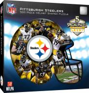 Pittsburgh Steelers 500 Piece Helmet Shaped Puzzle