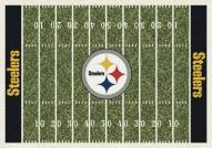 Pittsburgh Steelers 6' x 8' NFL Home Field Area Rug