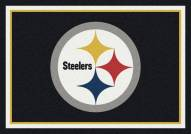 Pittsburgh Steelers 6' x 8' NFL Team Spirit Area Rug