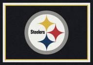 Pittsburgh Steelers 6' x 8' NFL Team Spirit Area Rug