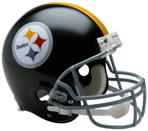 Pittsburgh Steelers 63-76 Riddell VSR4 Authentic Full Size Football Helmet