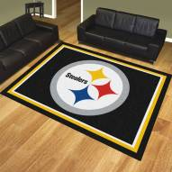 Pittsburgh Steelers 8' x 10' Area Rug