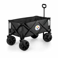 Pittsburgh Steelers Adventure Wagon with All-Terrain Wheels