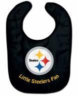 Pittsburgh Steelers All Pro Little Fan Baby Bib