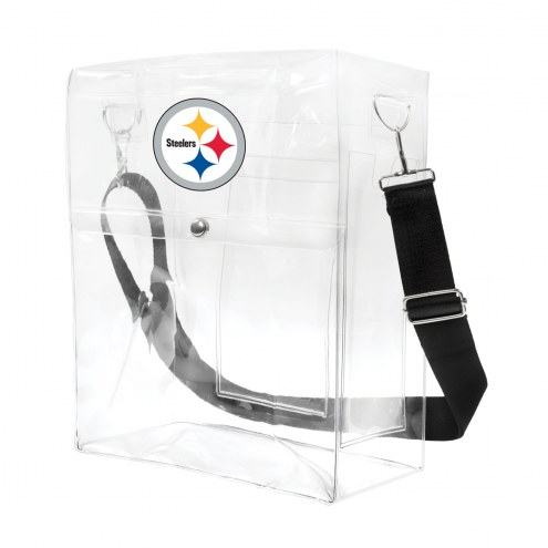Pittsburgh Steelers Clear Ticket Satchel