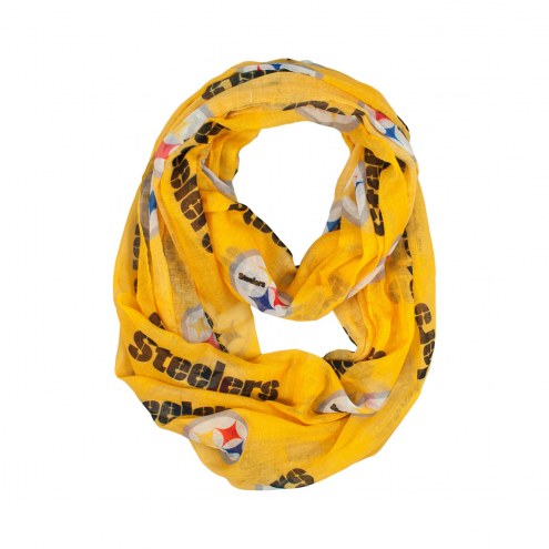 Pittsburgh Steelers Alternate Sheer Infinity Scarf