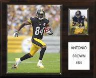 "Pittsburgh Steelers Antonio Brown 12"" x 15"" Player Plaque"