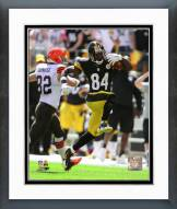 Pittsburgh Steelers Antonio Brown Action Framed Photo
