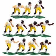 Pittsburgh Steelers Away Uniform Action Figure Set
