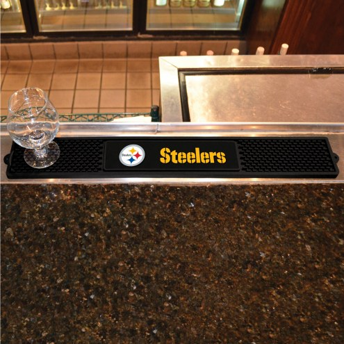 Pittsburgh Steelers Bar Mat
