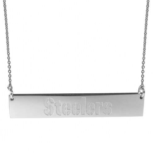 Pittsburgh Steelers Bar Necklace