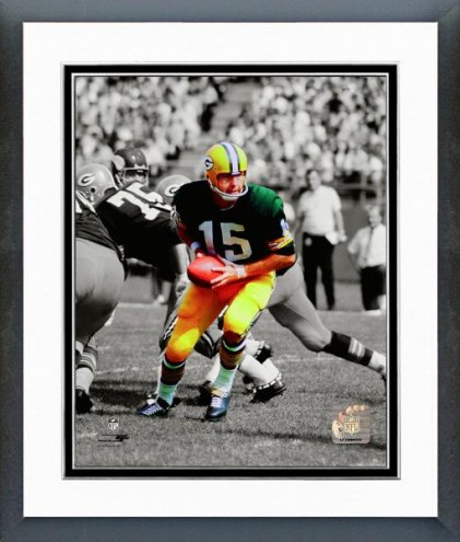 Pittsburgh Steelers Bart Starr Spotlight Action Framed Photo