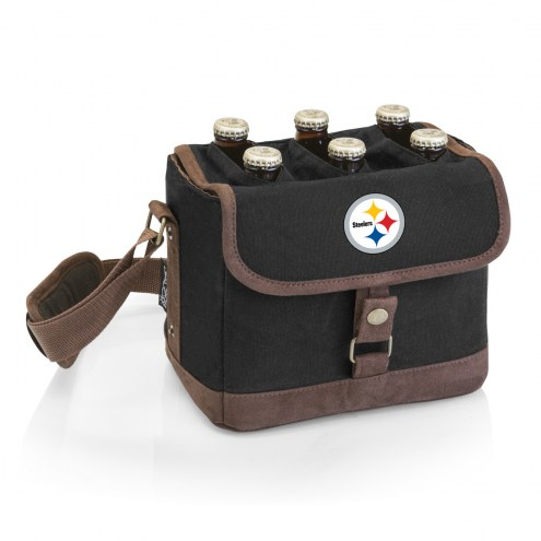 Pittsburgh Steelers Beer Caddy Cooler Tote with Opener