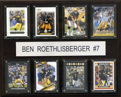 "Pittsburgh Steelers Ben Roethlisberger 12"" x 15"" Card Plaque"