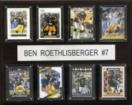 "Pittsburgh Steelers Ben Roethlisberger 12"" x 15"" Card Plaque"