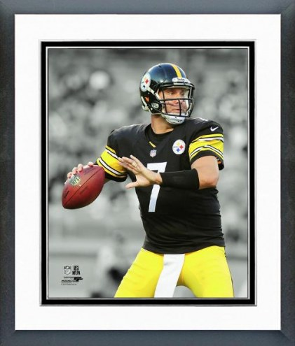 Pittsburgh Steelers Ben Roethlisberger Spotlight Action Framed Photo