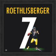 Pittsburgh Steelers Ben Roethlisberger Uniframe Framed Jersey Photo