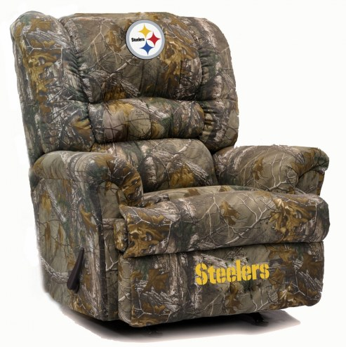 Pittsburgh Steelers Big Daddy Camo Recliner