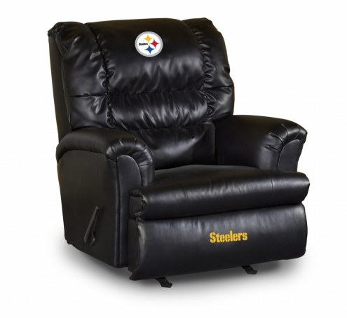 Pittsburgh Steelers Big Daddy Leather Recliner