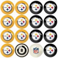 Pittsburgh Steelers Billiard Balls