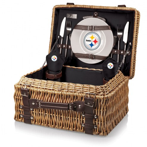 Pittsburgh Steelers Black Champion Picnic Basket